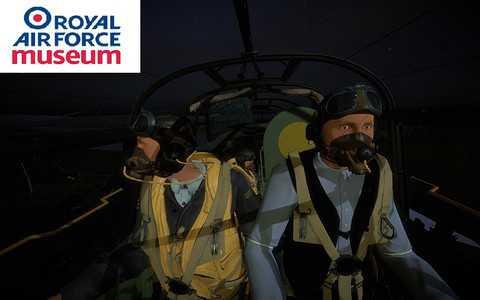 RAF Museum: Na pokładzie Lancastera - wirtualna rzeczywistość