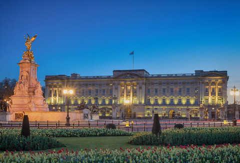Z wizytą w pałacu Buckingham