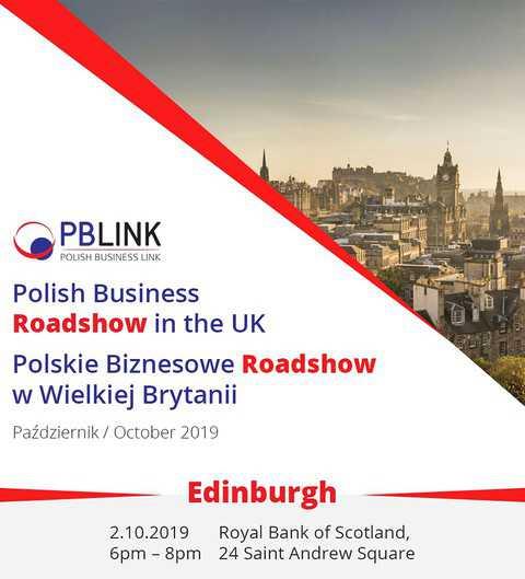 Edynburgh: Polish Business Roadshow