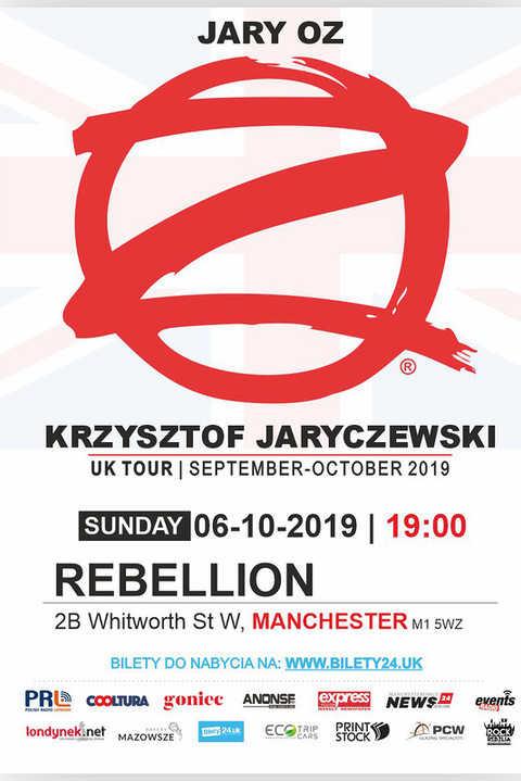 Manchester: JARY ODDZIAŁ ZAMKNIĘTY - UK Tour