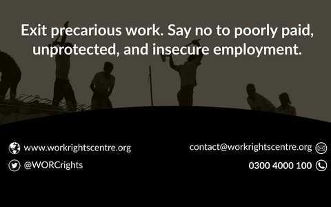 Work Rights Centre: Bezpłatne i poufne doradztwo dla obcokrajowców