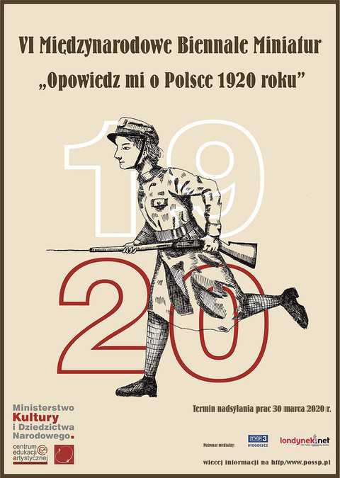 """VI Międzynarodowe Biennale Miniatur """"Opowiedz mi o Polsce 1920 roku"""""""