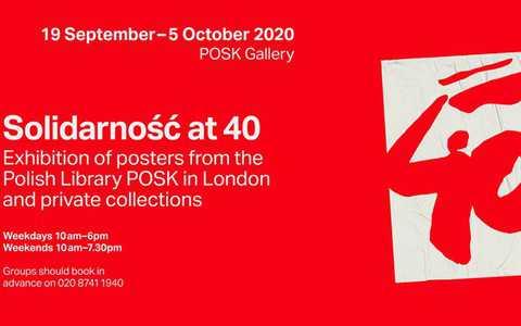 Galeria POSK: 40-lecie Solidarności