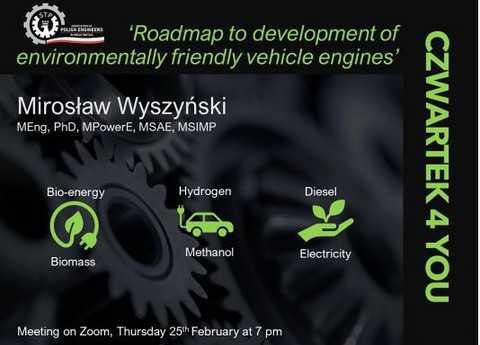 Czwartek4You: Mapa drogowa do rozwoju przyjaznych dla środowiska silników samochodowych