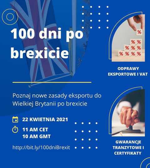 Webinar: 100 dni po Brexicie