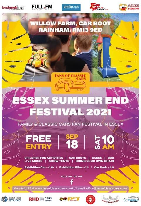 Festyn rodzinny z motoryzacją - ESSEX SUMMER END FESTIVAL