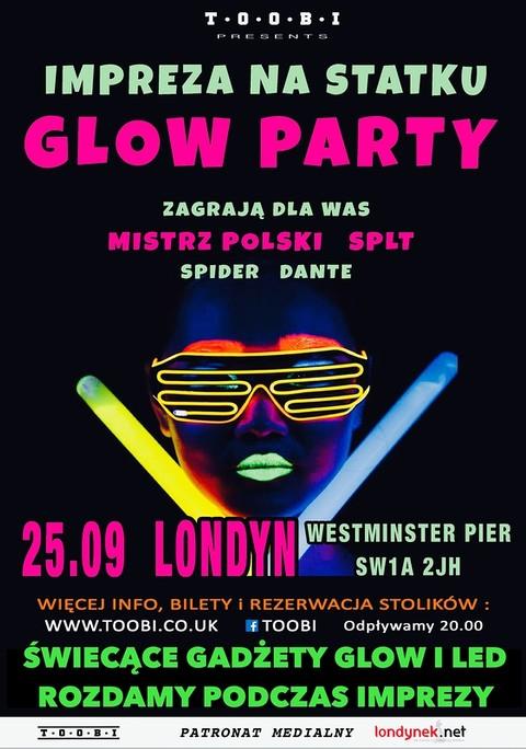 Toobi zaprasza: Glow Party na statku!