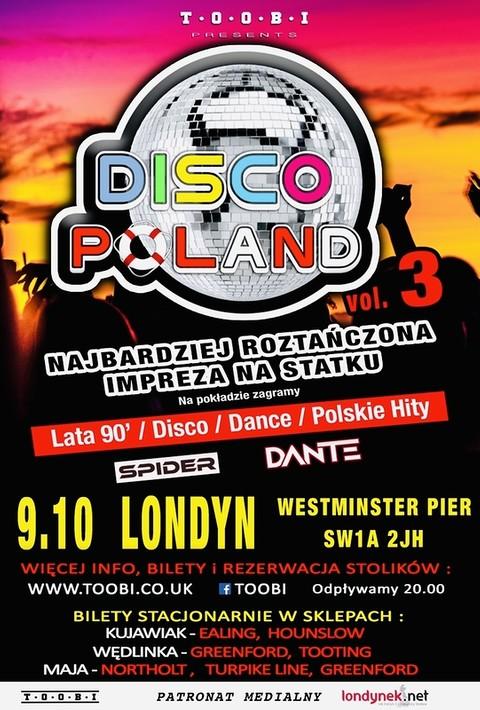 Impreza na statku: DISCO POLAND!