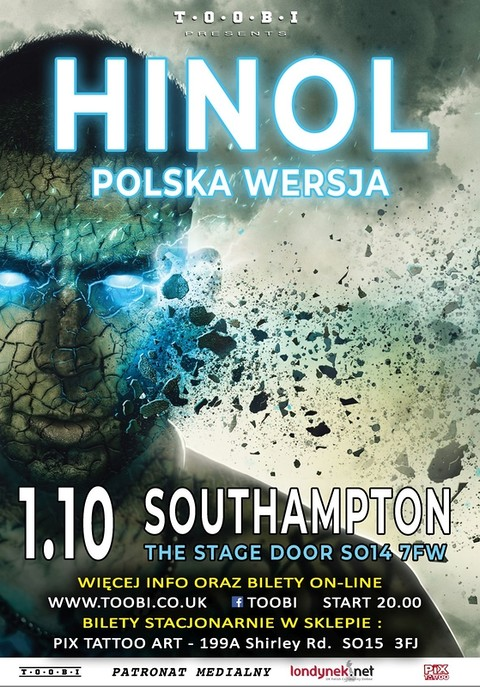 Hinol Polska Wersja w Southampton