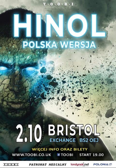 Hinol Polska Wersja w Bristolu