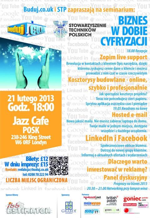 Seminarium 'Biznes w dobie cyfryzacji'