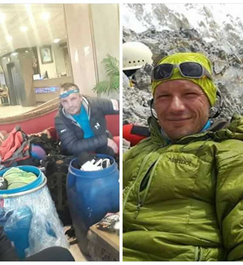 An accident on K2: The Polish climber feels good and returns to Poland