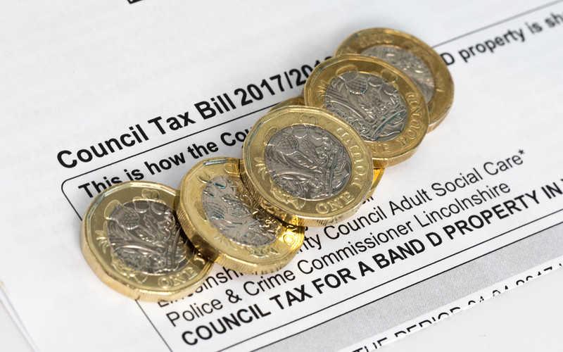 Council tax od kwietnia w górę