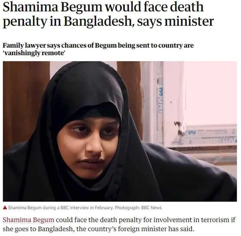 """""""Panna młoda dżihadu"""" może być skazana na śmierć w Bangladeszu"""