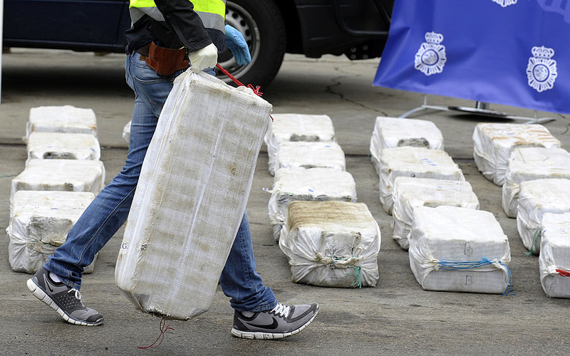 Seizures of cocaine in Europe hit record amount - EU drugs agency
