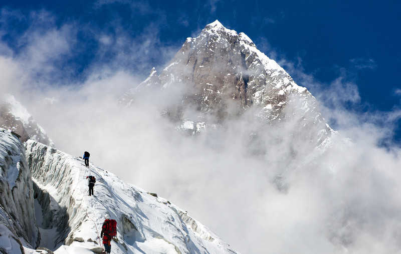 Polish climbers stopped the expedition to Lhotse