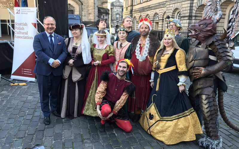 Krakowski festiwal w Edynburgu świętował odnowienie umowy partnerskiej