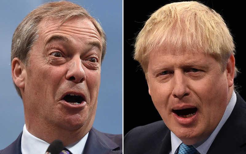 Johnson odrzuca możliwość zawarcia paktu wyborczego z Brexit Party
