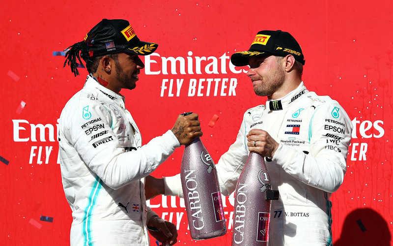 F1: Bottas wygrał GP USA, Hamilton mistrzem, Kubica nie dojechał