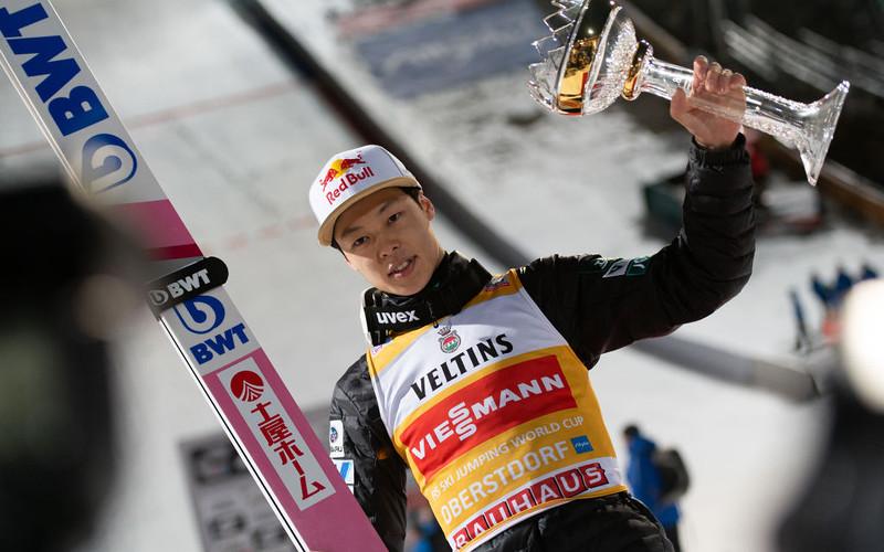 Japanese Ryoyu Kobayashi wins the 2019 Jump of the Year award