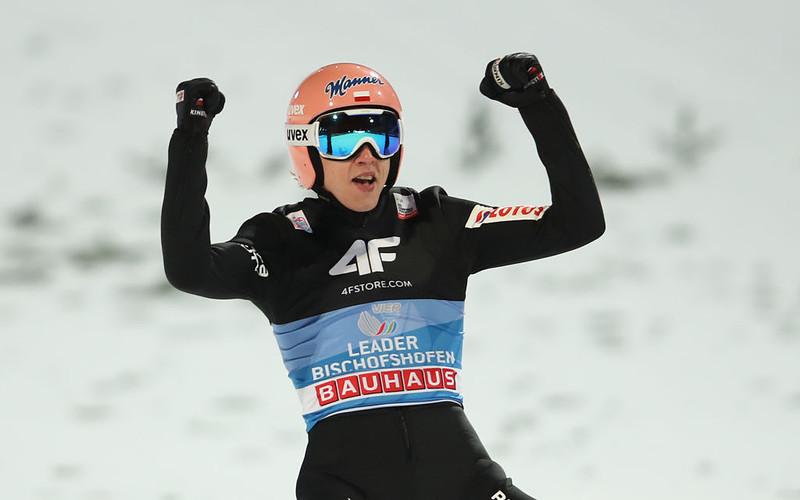 Dawid Kubacki the winner of the 4-Hills-Tournament!