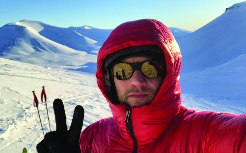 The Polish man welcomes 2020 to the South Pole after over 50 days of wandering alone