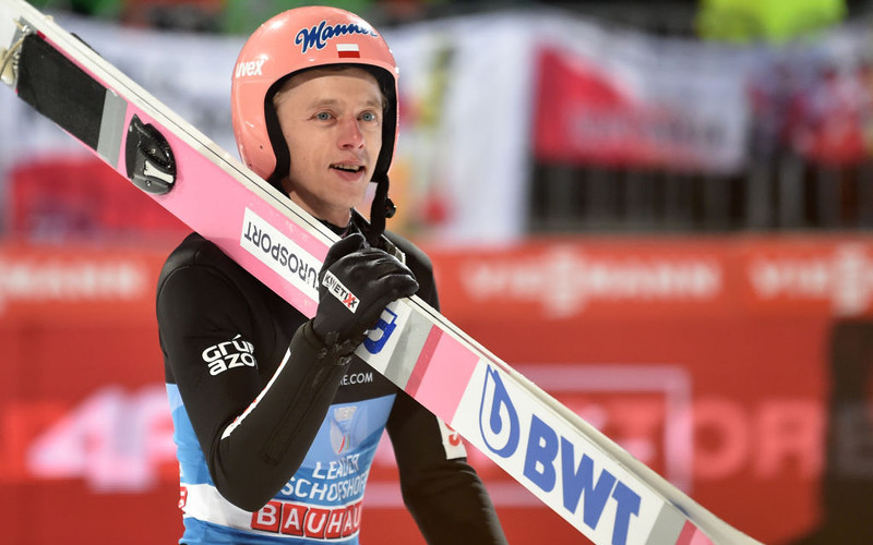 World Cup in jumping: Kubacki third, Stoch fourth, won by Geiger