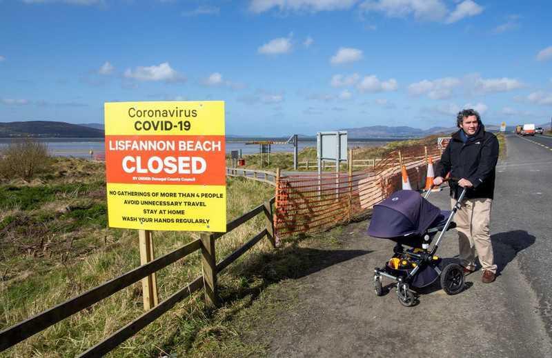 Irlandia: Najwyższa dotychczas liczba zgonów i zakażeń