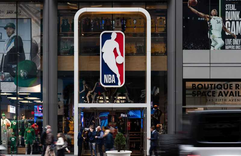 Liga NBA: Ruszyła sprzedaż licencjonowanych... maseczek