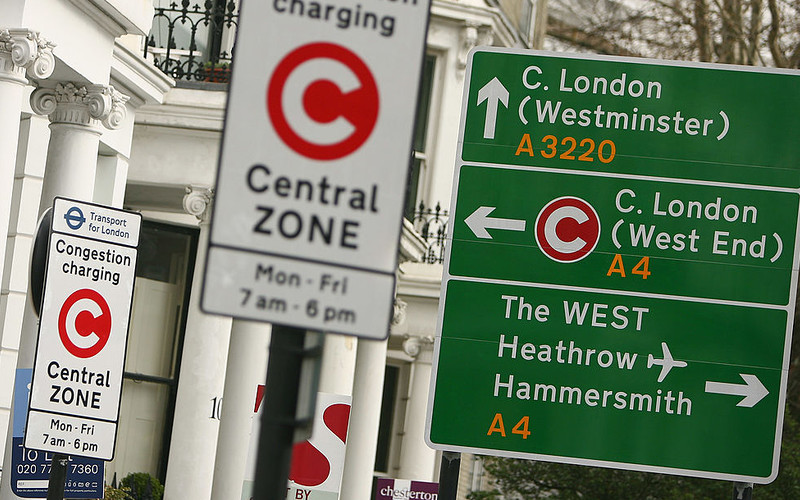 Congestion charge to rise to £15 next week and apply at evenings and weekends
