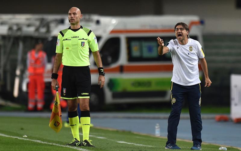 Serie A: Trener Verony zawieszony za obrażanie sędziego