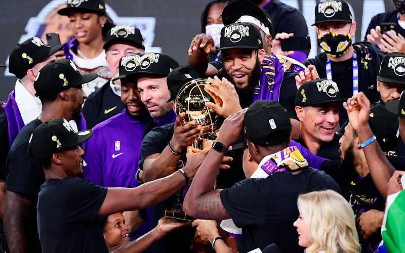 Los Angeles Lakers nowymi mistrzami NBA