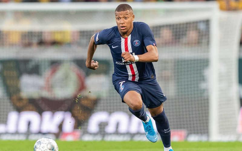 Mbappe najszybszym graczem w poprzednim sezonie Ligi Mistrzów