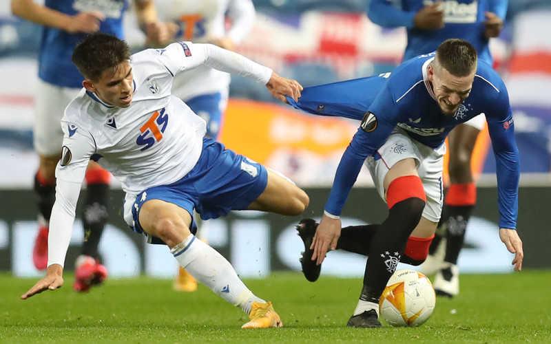 Liga Europy: Lech Poznań przegrał z Rangers FC