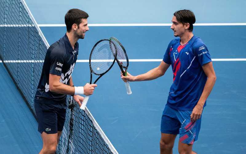 Turniej ATP w Wiedniu: Porażka Djokovica z Sonego, pogromcą Hurkacza