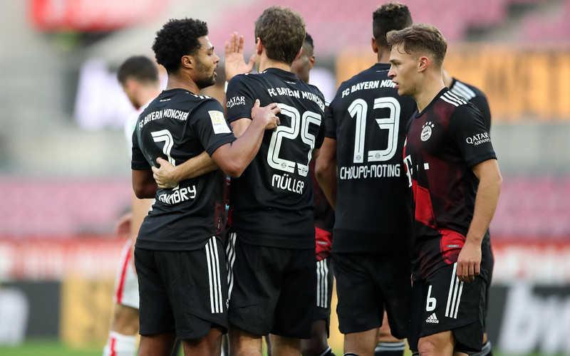 Liga niemiecka: Wygrana Bayernu bez odpoczywającego Lewandowskiego