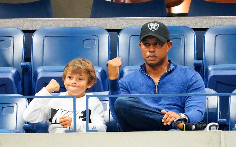 Tiger Woods, son to play together in event