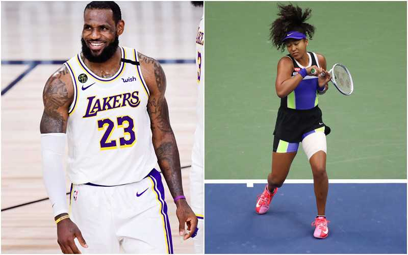 LeBron James, Naomi Osaka among SI Sportspersons of the Year