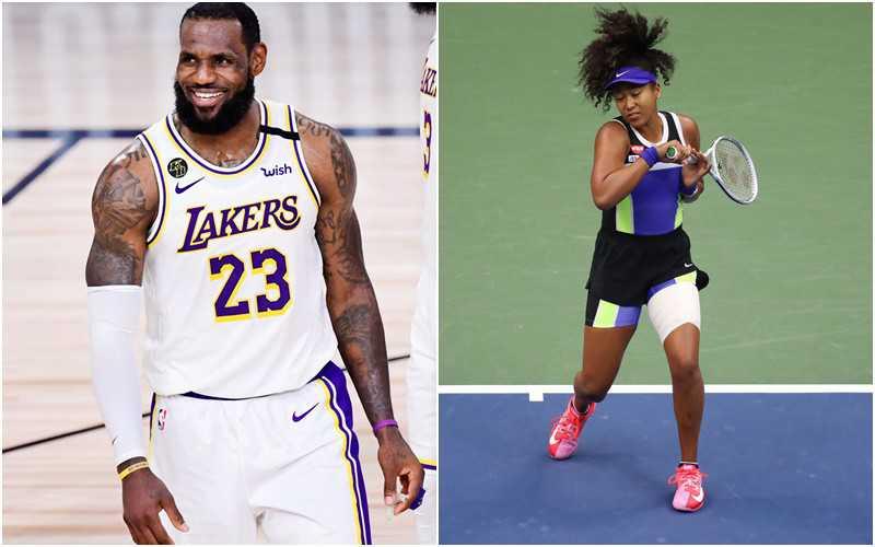 """LeBron James i Naomi Osaka w gronie wyróżnionych przez """"Sports Illustrated"""""""