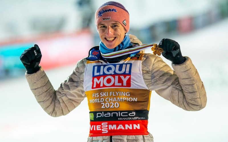 """Ski flying world champion Geiger became father: """"Perfect week"""""""