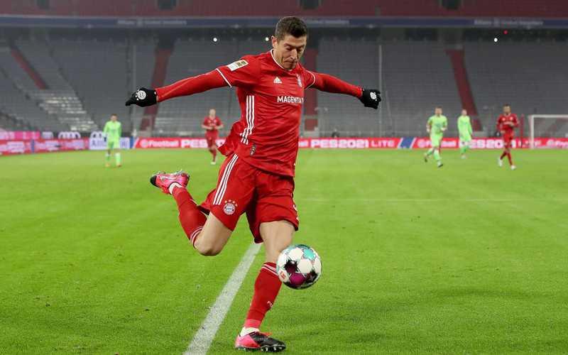 Lewandowski strzelił 250. gola w Bundeslidze
