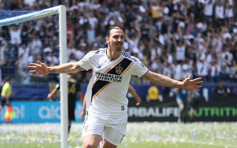Ibrahimović voted greatest goal in MLS history