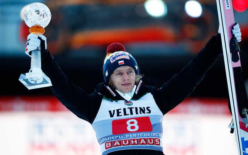 Four Hills: Dawid Kubacki breaks hill record to win at Garmisch