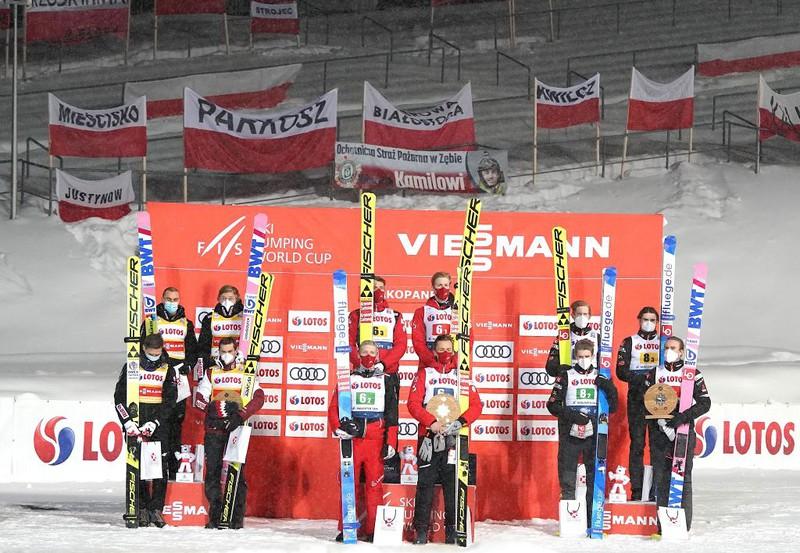 World Cup in ski jumping: Poland was second in Zakopane, Austria won