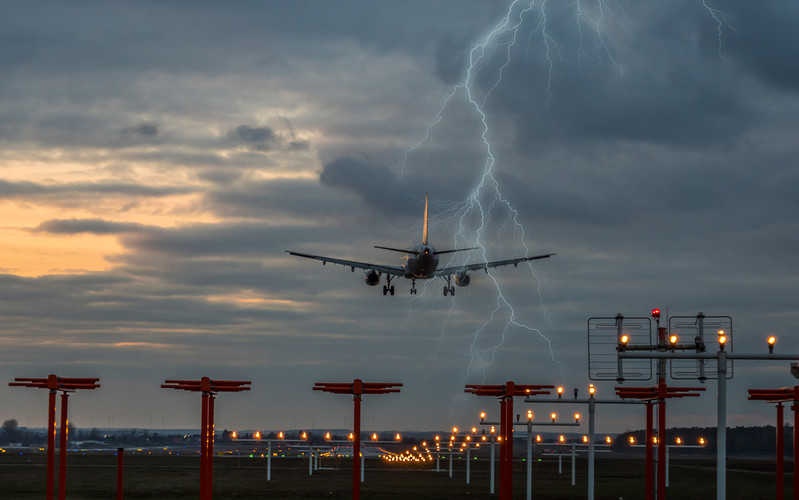 At the airport in Gdańsk, planes can land in difficult weather conditions
