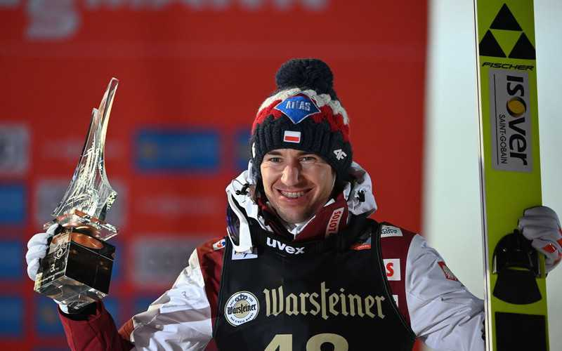 Ski-jumping: Polish champion Stoch claims World Cup podium