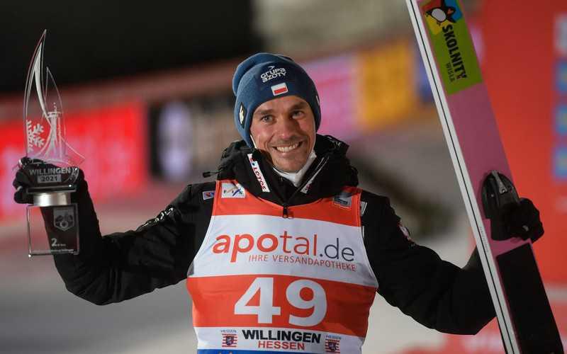 Ski jumping: Piotr Żyła second in Willingen
