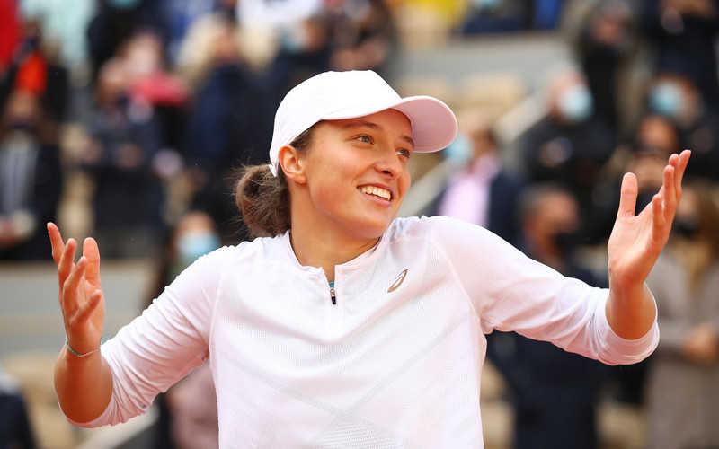 WTA ranking: Świątek is still in the 17th place
