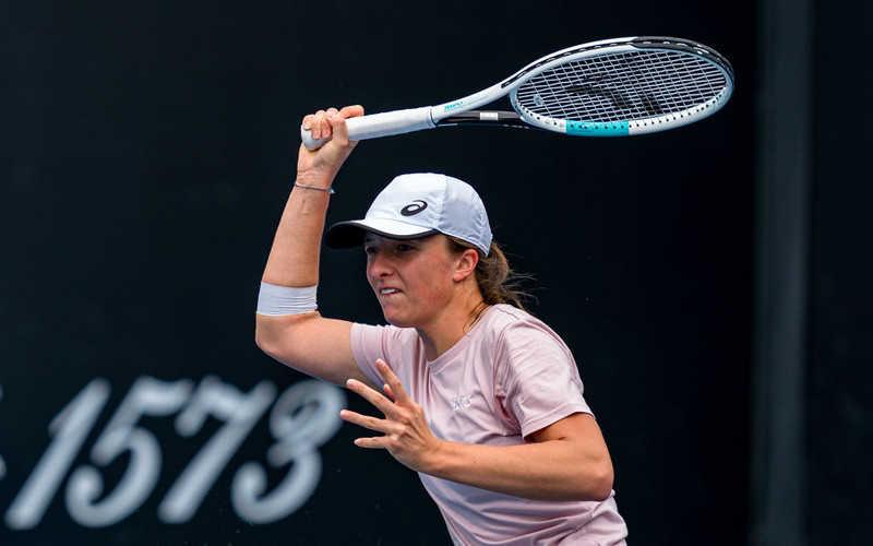 Australian Open: Pewny awans Świątek do drugiej rundy
