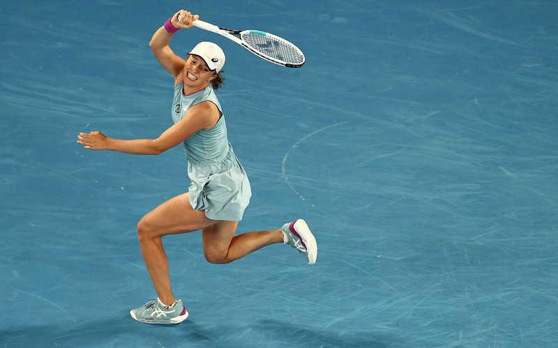 Iga Świątek entered the WTA tournaments in Adelaide, Doha and Dubai